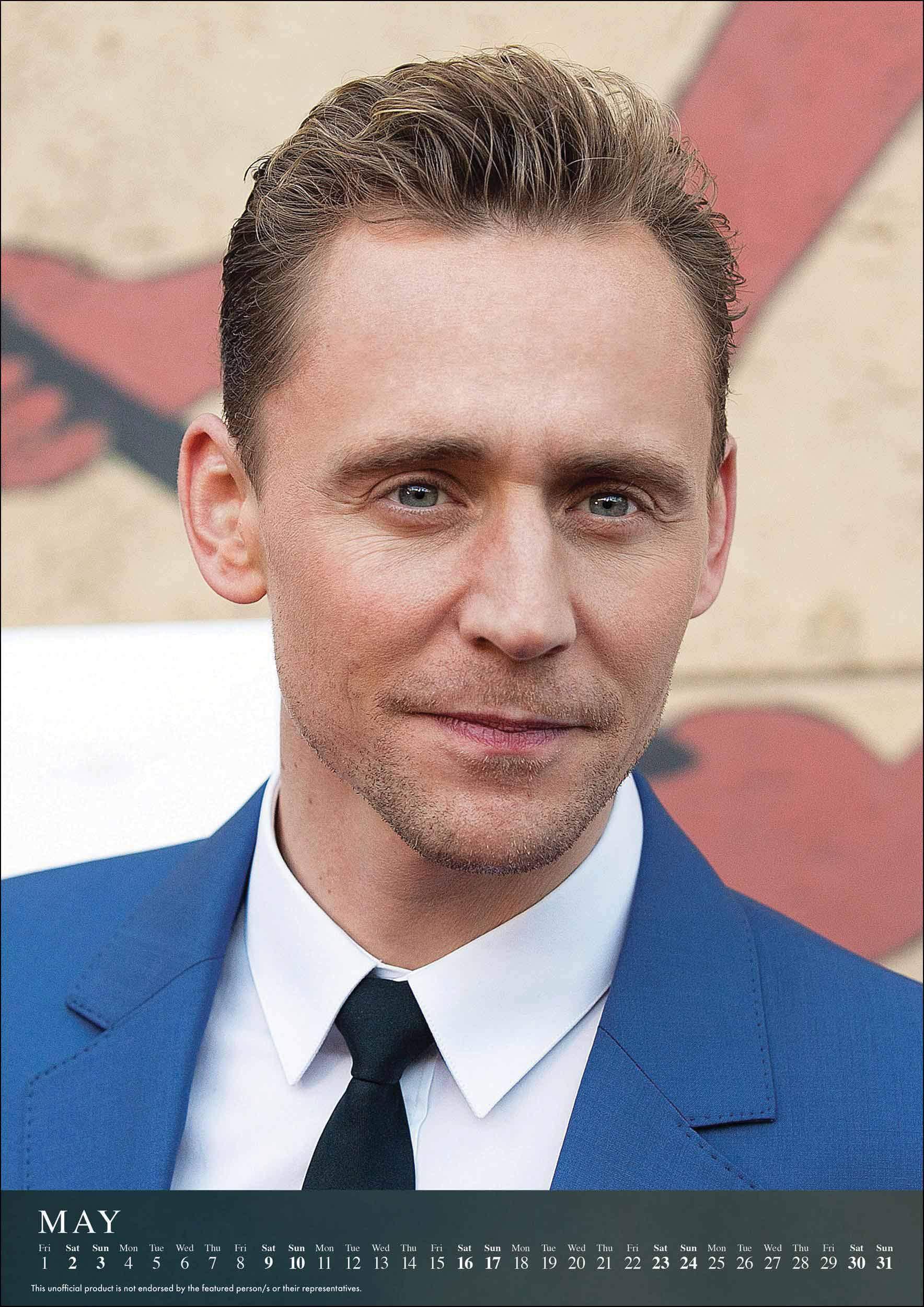 Tom Hiddleston Unofficial A3 Calendar 2020: Amazon.es ...