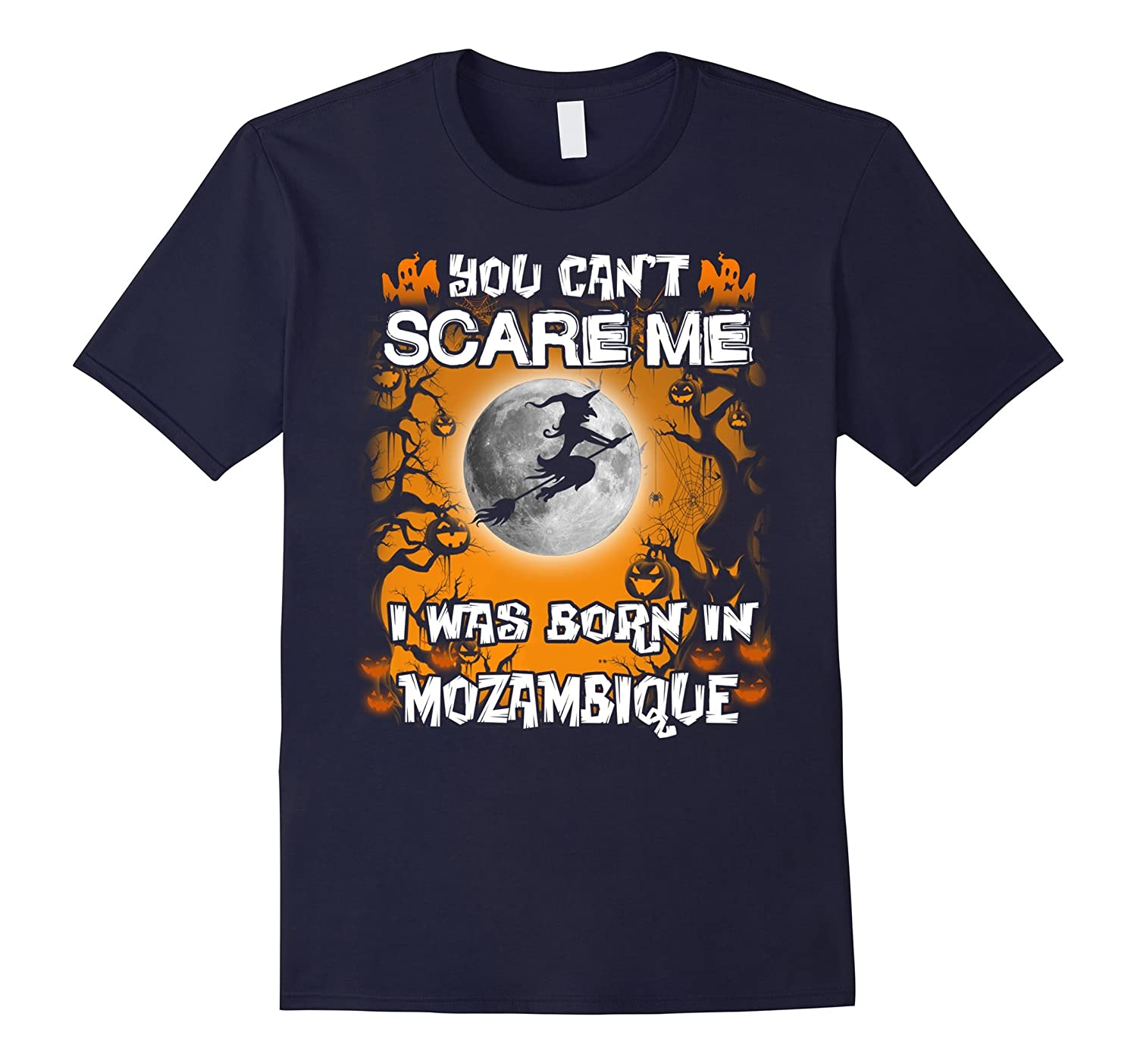 Mozambique funny Halloween tees-FL