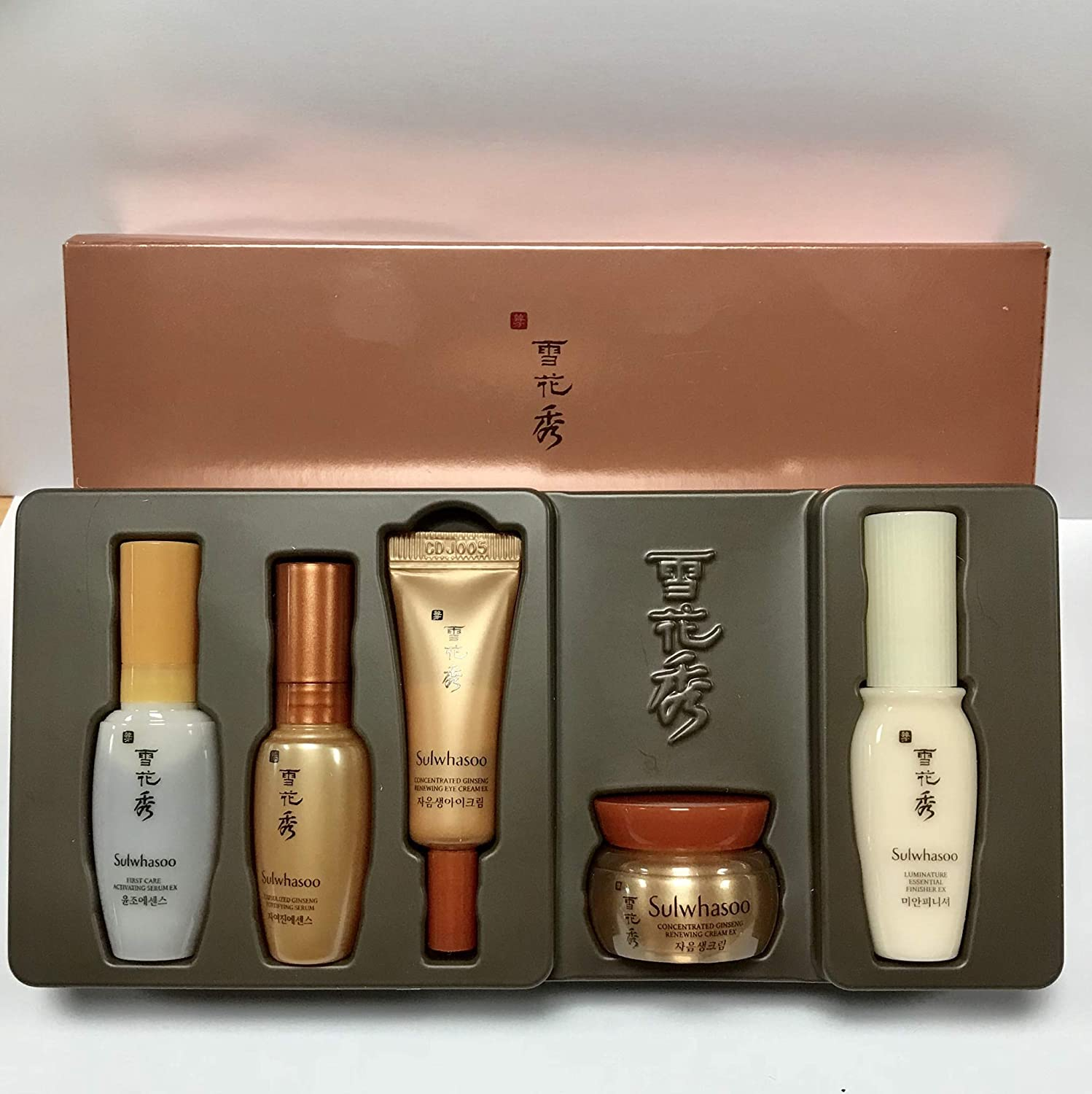 Amazon com : Sulwhasoo Anti-Aging Care Kit (5 items), 2018's Vesion