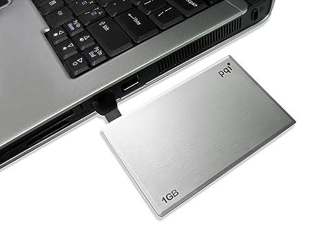 PQI Memoria USB 1 GB AU Formato Tarjeta de Crédito Materia ...