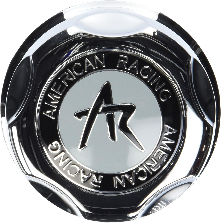 American Racing Matte Black Snap-In Wheel Center Hub Cap
