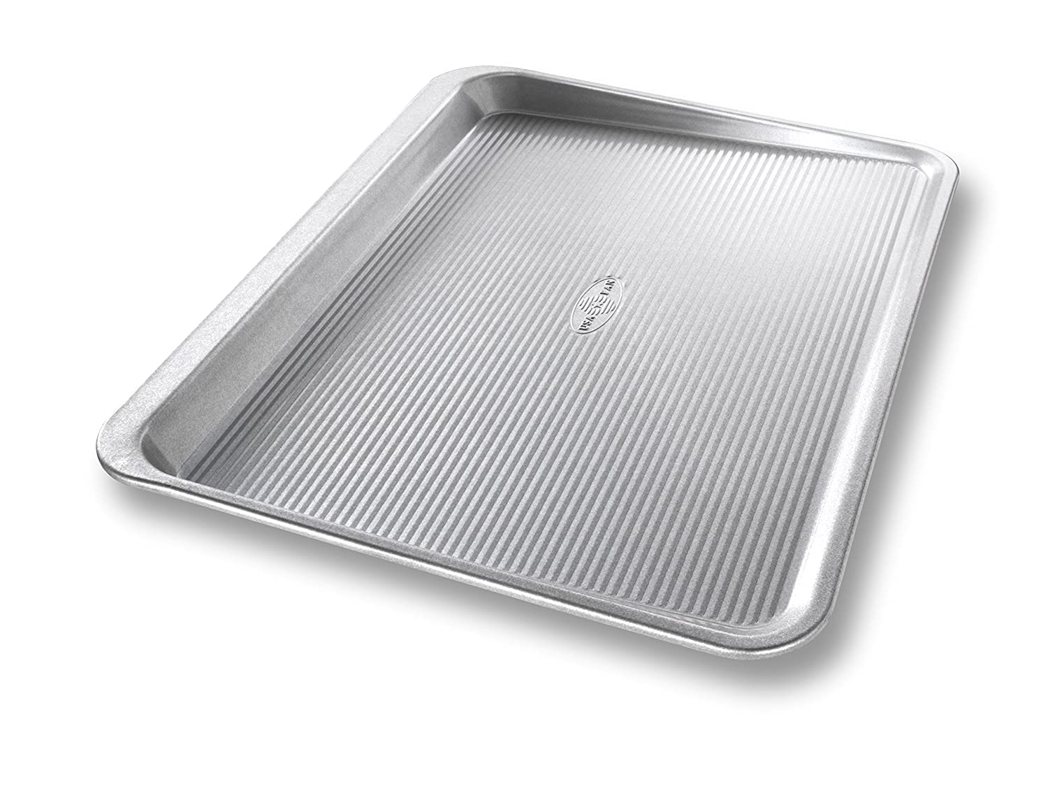 USA Pan Bakeware Aluminized Steel Cookie Scoop Pan, Large
