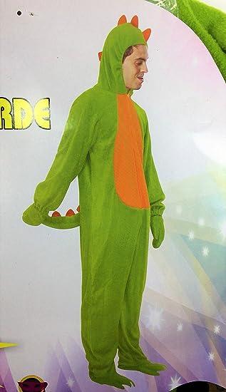 Disfraz de Dragón, verde. Adulto. Talla única.: Amazon.es ...