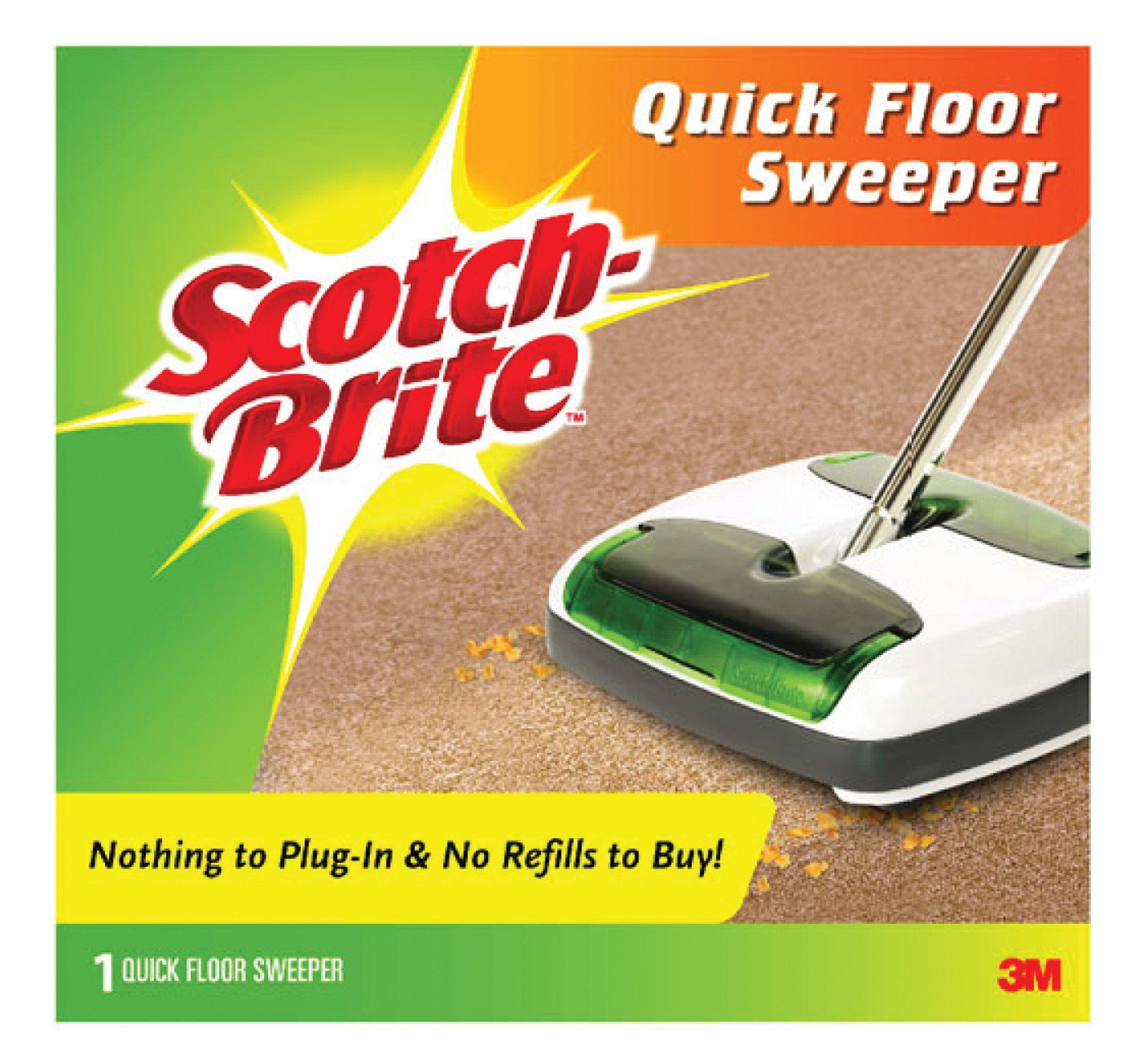 Scotch-Brite Quick Floor Sweeper M-007-CCW, 1-Count by Scotch-Brite