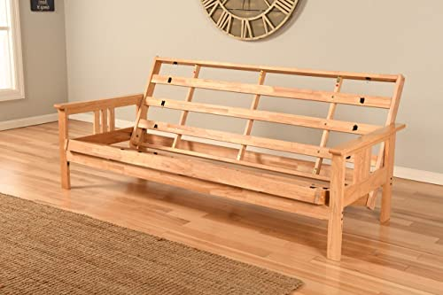 Kodiak Futons Monterey Futon Frame, No Drawers, Natural