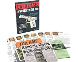 Think Fun Cold Case: A Story to Die for– A Murder Mystery Game in a Box for Ages 14 and Up 2021