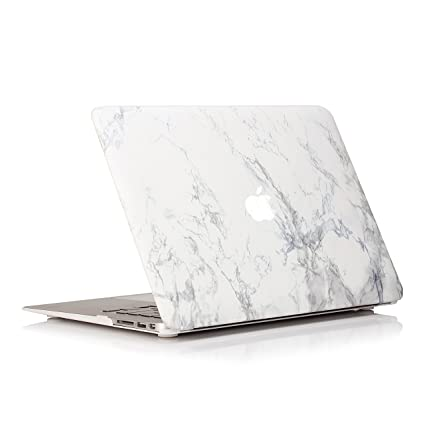 save off a0d45 c0a55 Ruban MacBook Air 13 Inch Case - Fits Previous Generations A1466 / A1369  (Will Not Fit 2018 MacBook Air 13 with Touch ID), Slim Snap On Hard Shell  ...