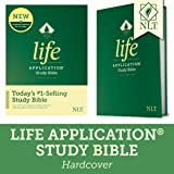NLT Life Application Study Bible, Third Edition (Hardcover) Tyndale NLT Bible with Updated Notes and Features, Full Text…