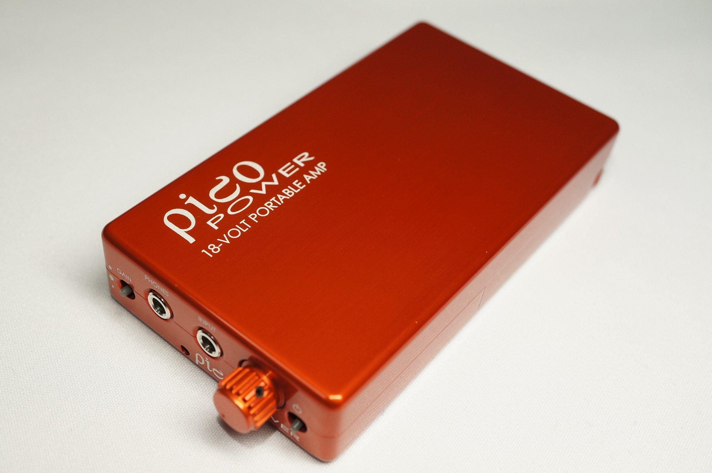 HeadAmp Pico Power Portable Headphone Amp Orange