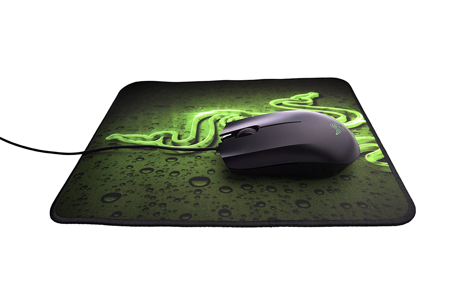 Razer Abyssus 1800 Gaming Mouse and Goliathus Speed Mat Bundle