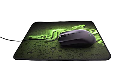 Razer Abyssus 1800 Gaming Mouse and Goliathus