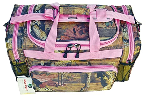 Image Unavailable. Image not available for. Color  Explore Eplorer 20-inch Mossy  Oak Duffel Bag Pink Trim 3288ccc248deb