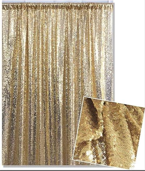 Kate Foto Hintergrund Gold Garn Bedeckt Pailletten Elektronik