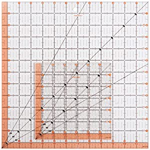 Fiskars Square Acrylic Ruler Set (187210-1001)