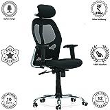 Ergonomic Chair  BetterPosture Saddle Chair  Jobri F1465BK by