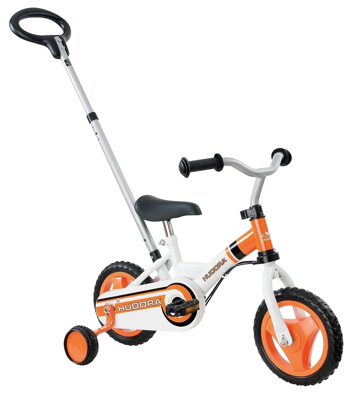 HUDORA Kinder Fahrrad RS-1 3.0, Orange weiß, 25.4, 10505