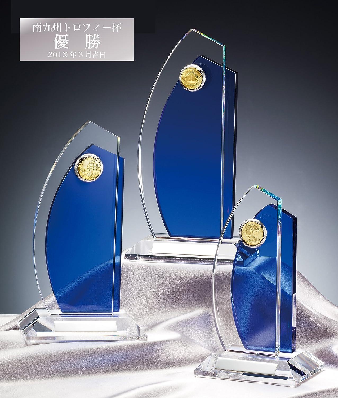 [レーザー彫刻名入れ] GOLD SHACHI クリスタルトロフィー CMV367 B01N9QHMCK 01.女神 Aサイズ 高さ25cm 重さ1,500g