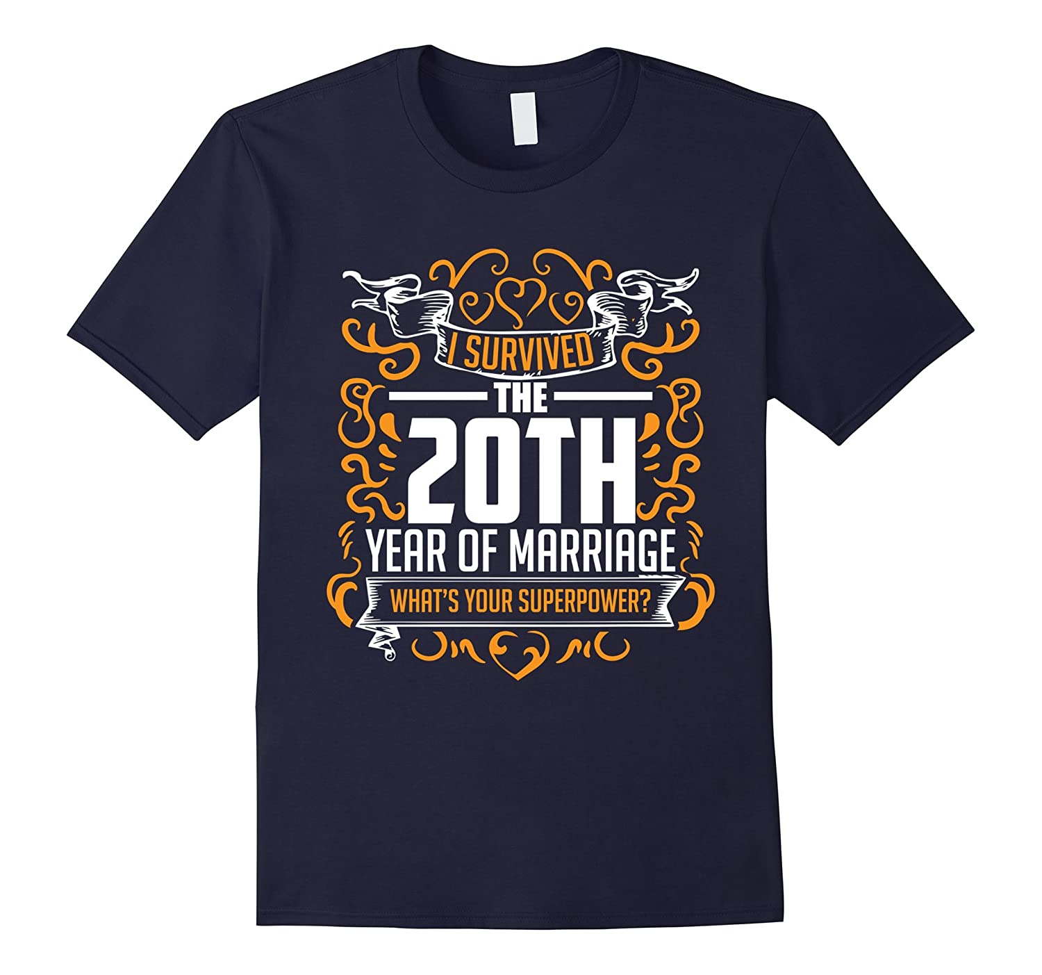 20th Wedding Anniversary Gifts 20 Year T Shirt For Her  Him-CD