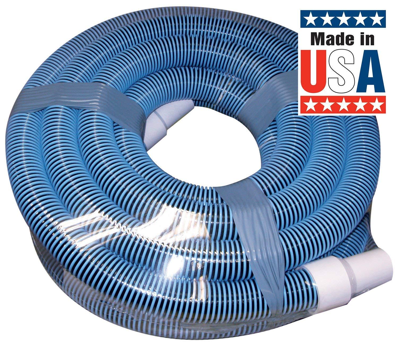 1-1//2-Inch by 40-Feet Renewed Poolmaster 33440 Heavy Duty In-Ground Pool Vacuum Hose With Swivel Cuff