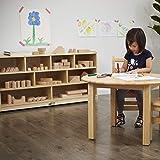 ECR4Kids Birch 9-Cubby School Classroom Block