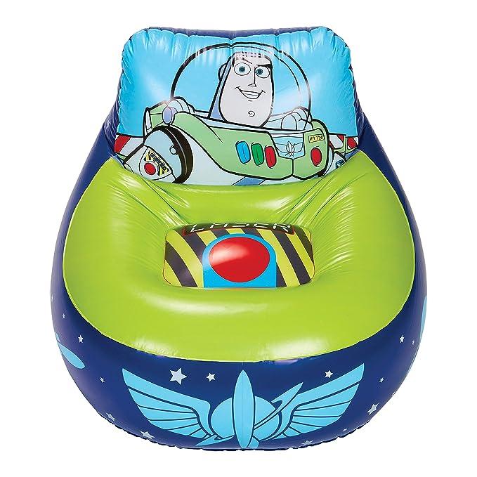 Silla inflable de juego para niños Disney Toy Story 288TOY 4, azul ...