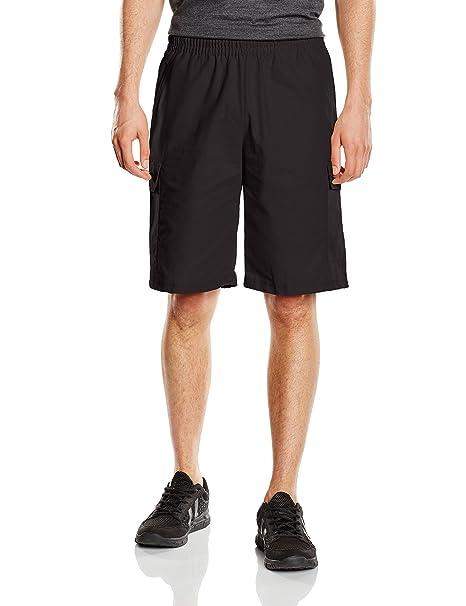 Herren Shorts-Pantalones Cortos de Deporte Hombre Negro (Schwarz 008) 62 Trigema C7IQmcf