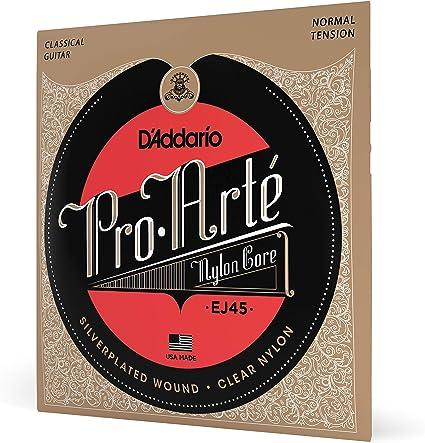 DAddario EJ45 - Juego de Cuerdas para Guitarra Clásica de Nylon ...