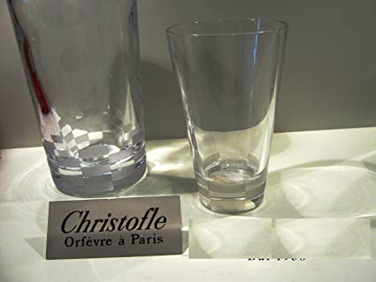 Set 6 vasos Christofle Whisky Alto Colección 3000 7992122