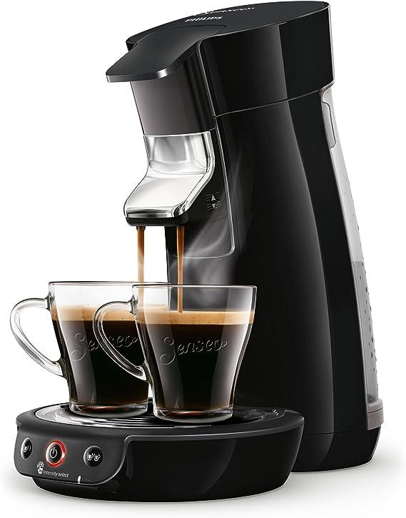 Senseo Viva Café HD6563/60 - Cafetera (Independiente, Máquina de café en cápsulas, 0,9 L, Dosis de café, 1450 W, Negro): Amazon.es: Hogar