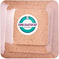 Dolphin Collection Square Cork Coaster (Pack of 3)