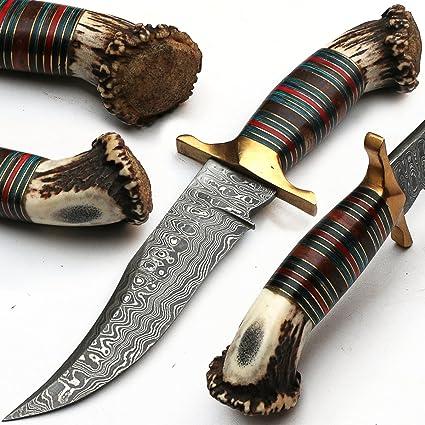 du-z8lc-cw52 - 8411 cuchillo de Damasco hecho en la mano ...