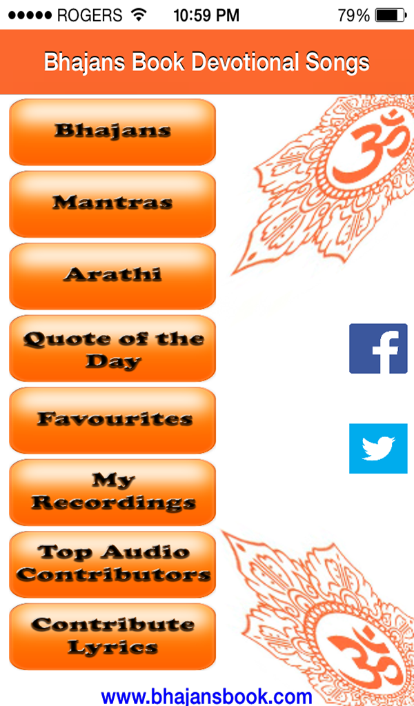 Amazon.com: Bhajans Book: Devotional Songs: Appstore for Android
