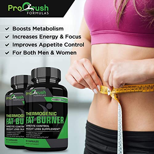 Thermogenic Fat Burner Appetite Control Weight Loss Supplement Superior Formula That Burns Fat Increases Metabolism. Ultimate Appetite Suppressant by ProCrush Formulas