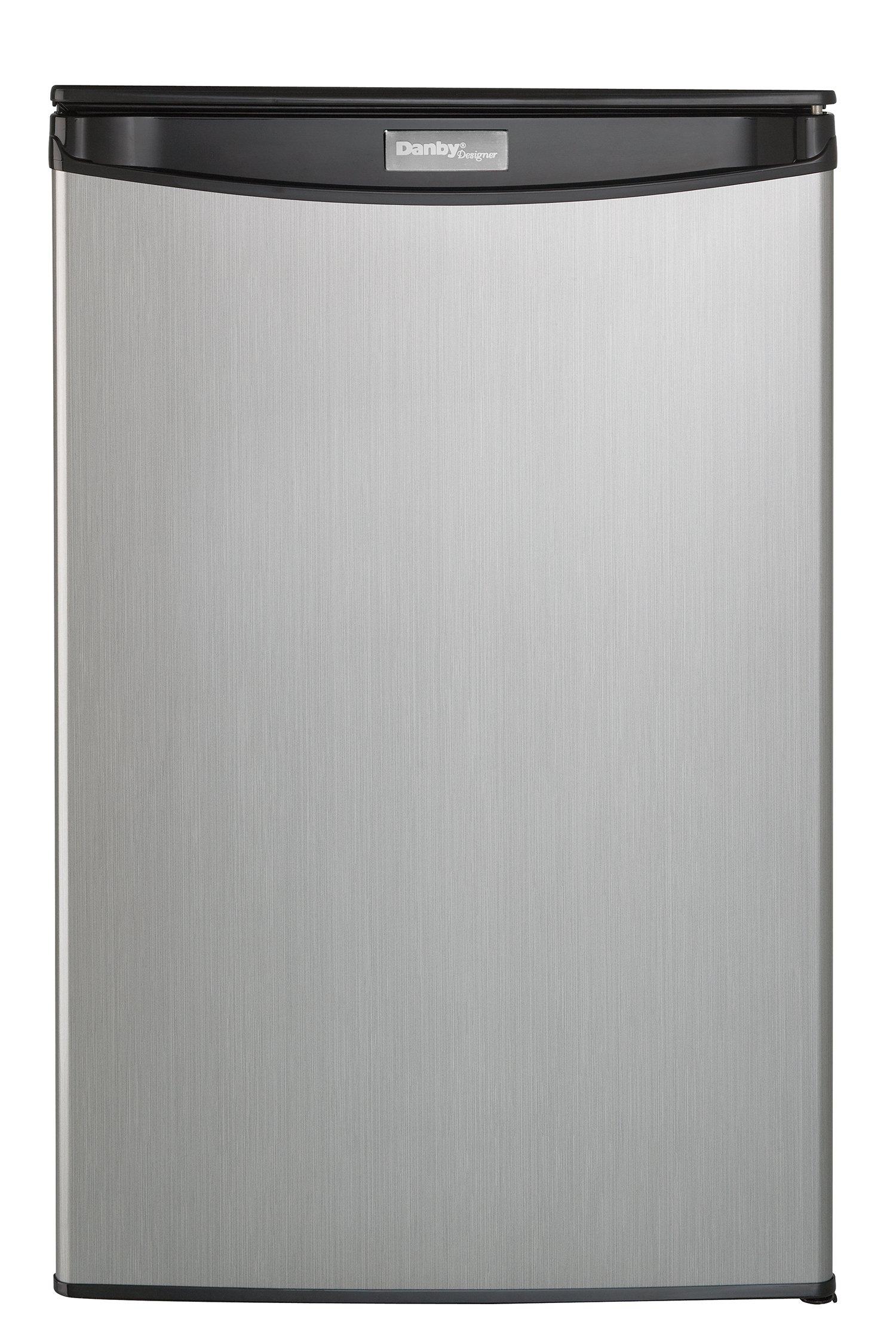 Danby DAR044A5BSLDD Compact Refrigerator, Spotless Steel Door, 4.4 Cubic Feet by Danby (Image #2)