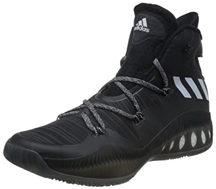 266d57438a1 adidas Performance Mens Crazy Explosive Basketball Trainers Shoes - Black -  17US