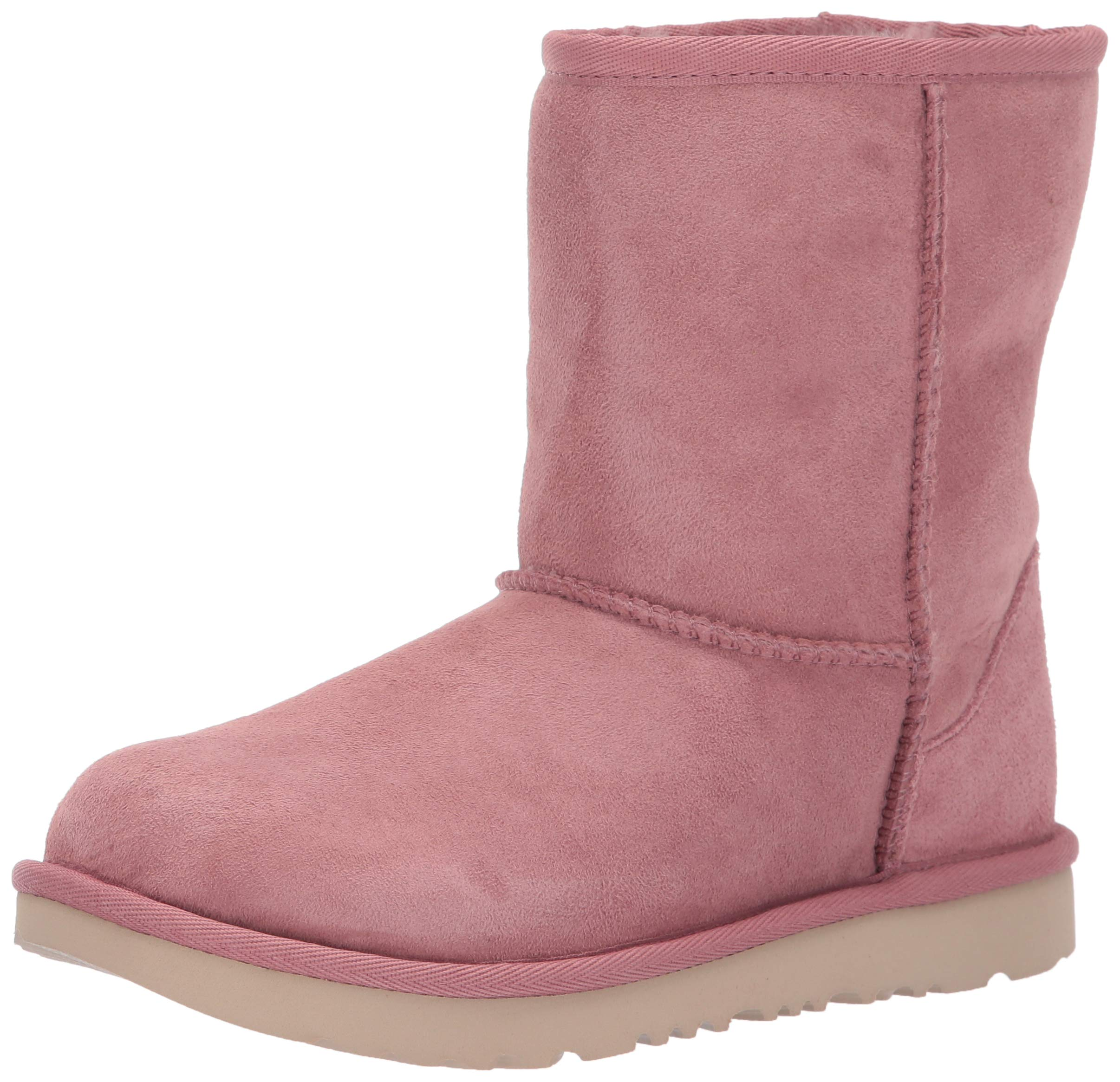 UGG Unisex K Classic II Fashion Boot, Pink Dawn 3 M US Little Kid