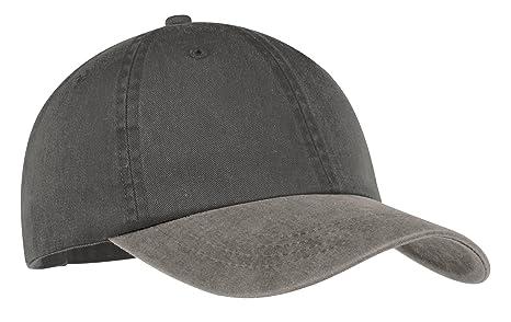 62ac6eb51cc41 Port & Company Men's Two Tone Pigment Dyed Cap: Amazon.ca: Sports ...