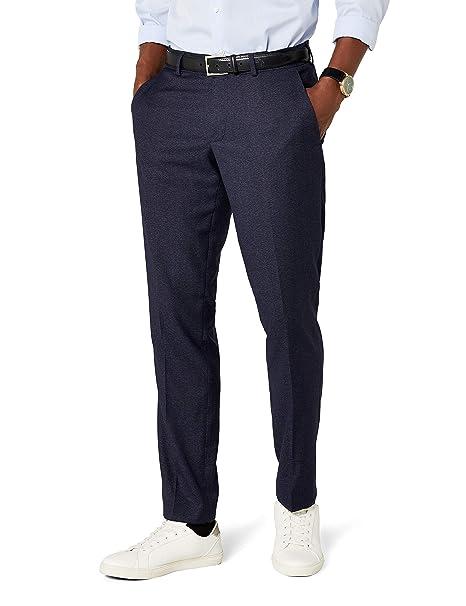Esprit Pantalones de Traje para Hombre: Amazon.es: Ropa y ...