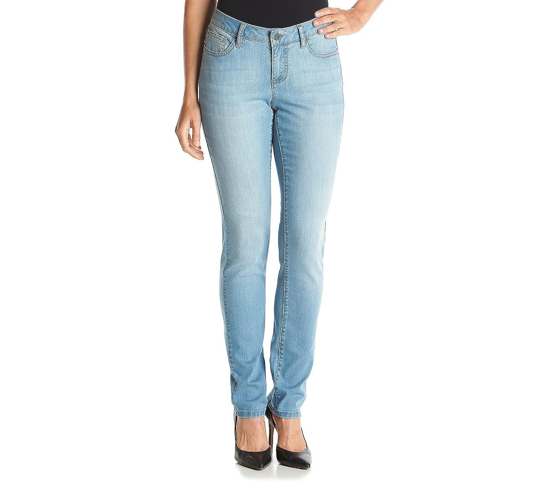 Earl Jean Petites' Skinny Clean Pocket Jeans