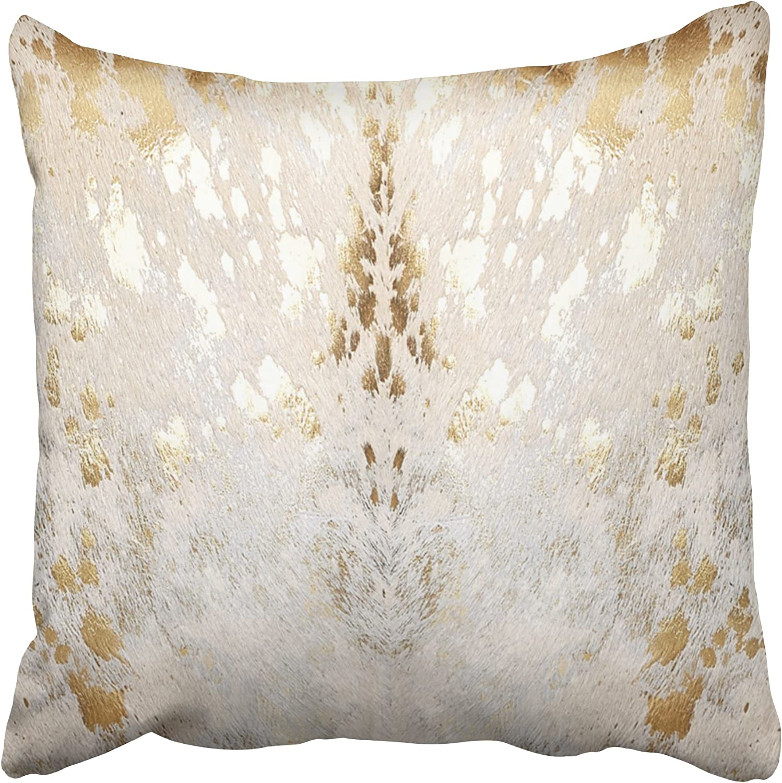 Diamond Print Custom Size Square Pillow Retro Chevron Beige Bronze Gray Pattern Throw Pillow Cover Cover Only 20x20 24x24 12x24 14x26