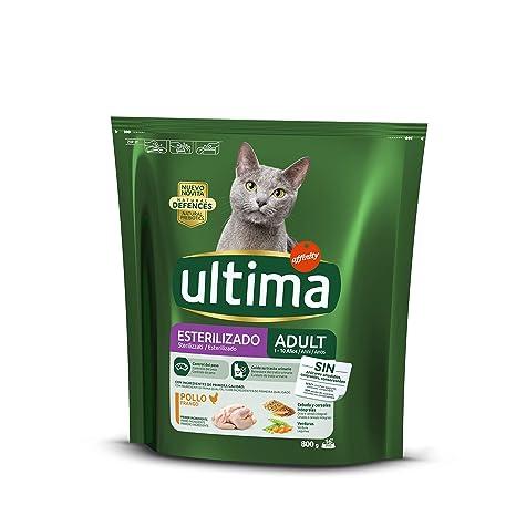 Ultima Cat - Esterilizados Pollo Y Cebada 800 g