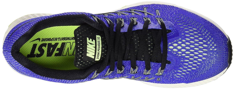 performance sportswear half price sold worldwide Nike Men's Air Zoom Pegasus 32 Running Shoes, Blue/Black/Green ...
