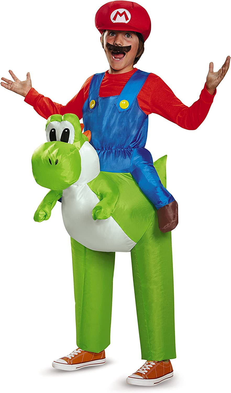 Disguise Mario Riding Yoshi Child Costume by Disguise: Amazon.es ...