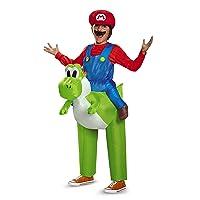 Inc - Super Mario Bros: Ride a Yoshi Inflatable Child Costume