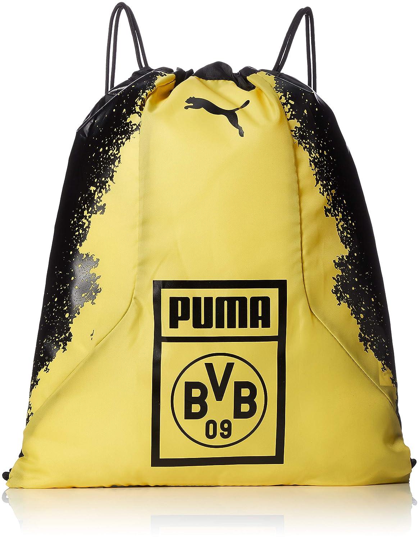 Puma BVB Fan Gym Sac/Sac de Gym Puma Noir et Cyber-Jaune, UA