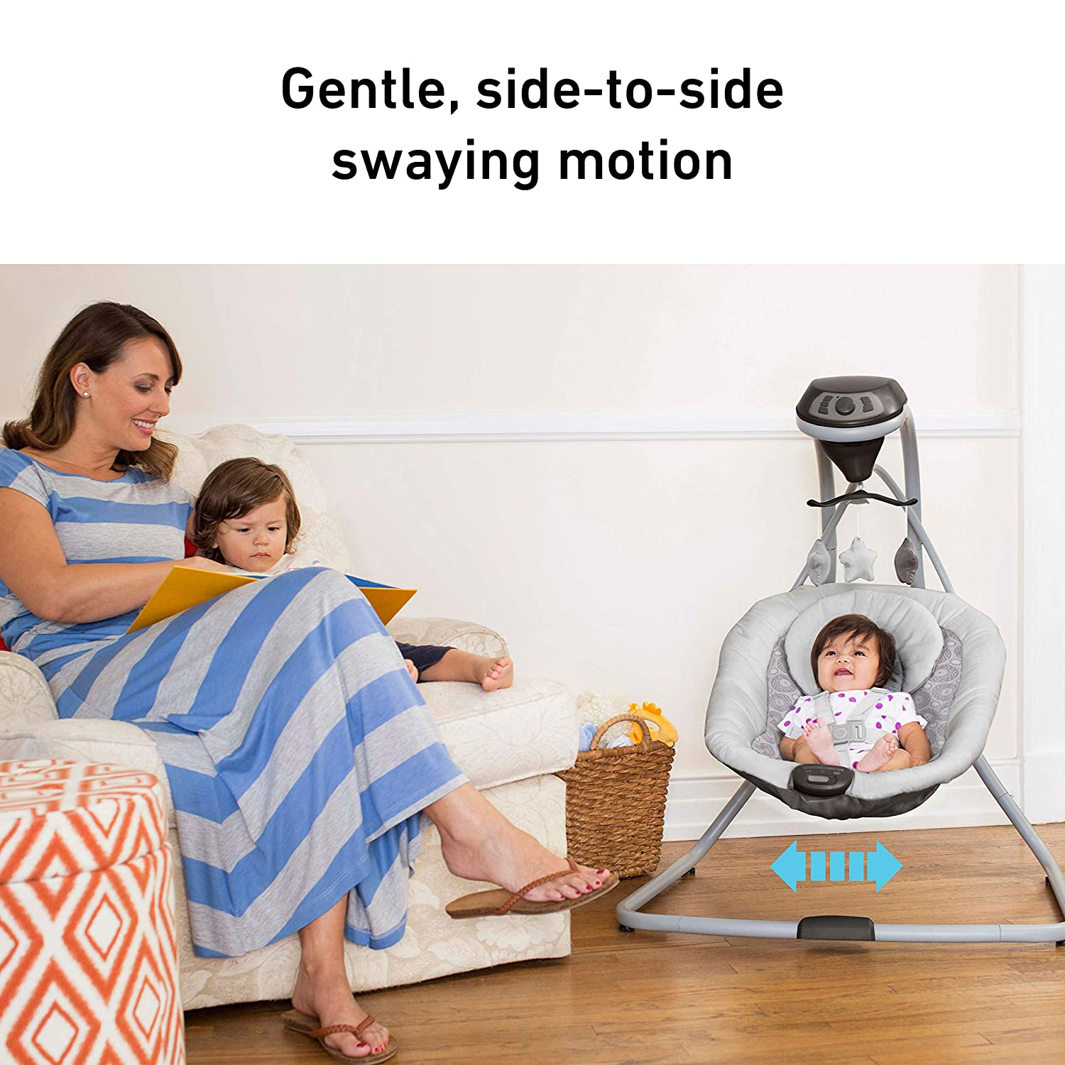 816A 6PCw%2BL. SL1500 The 9 Best Baby Swings for Reflux for 2021 [Review]