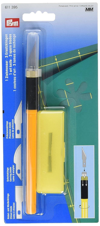 Prym - Taglierino per lavori artistici con 3 lame, colore: verde PRYM_611395-1