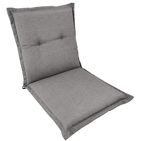 SunDeluxe Cojín para sillas Plegables de Exterior Confort ...