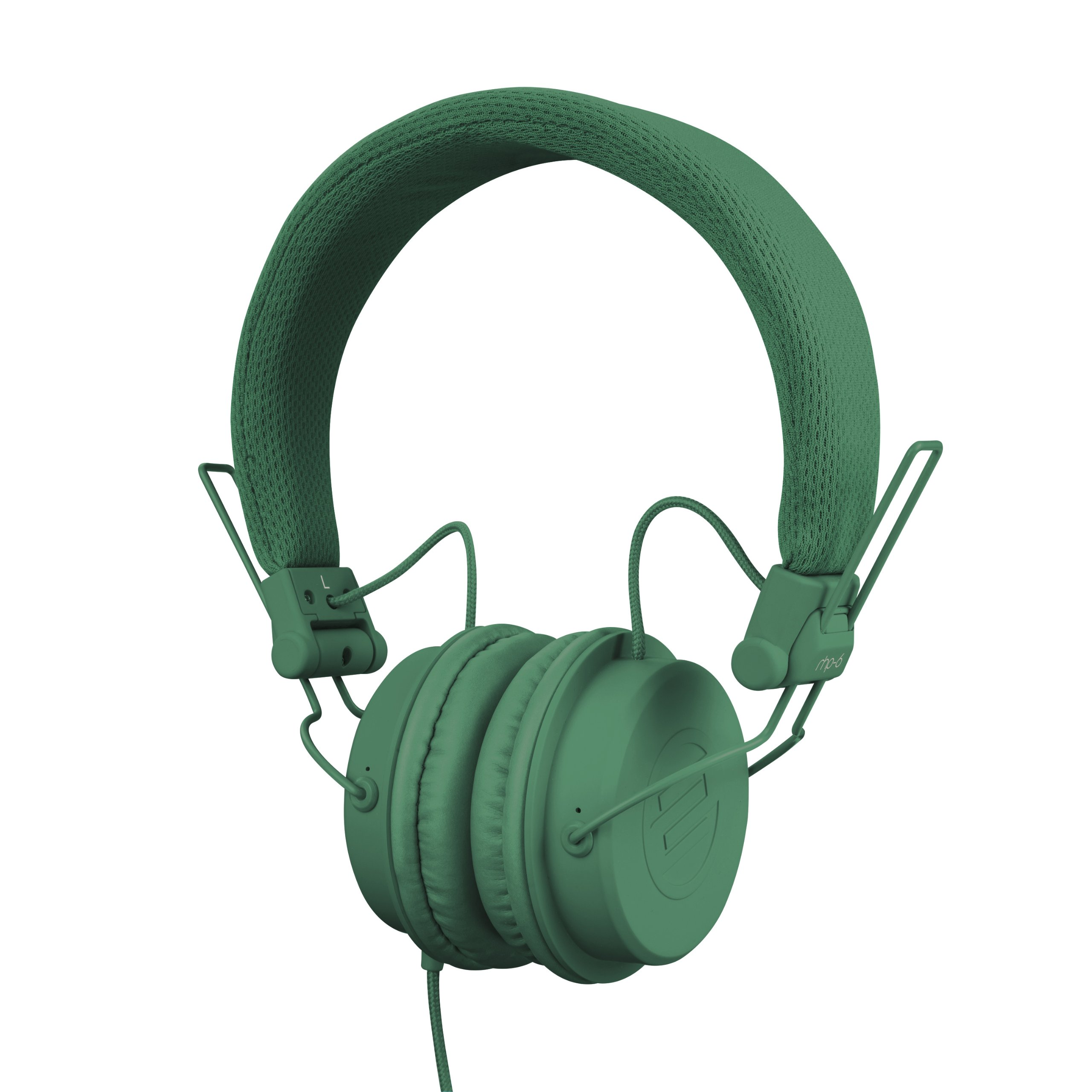 Reloop RHP-6 Ultra Compact DJ and Lifestyle Headphones, Retractable, Closed, Petrol