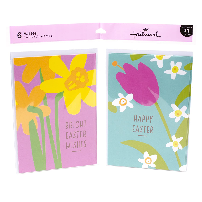Amazon Hallmark Easter Greeting Card Assortment 3 Cards Each